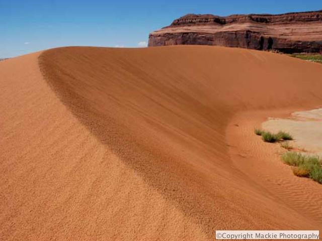 Even photogenic sand dunes